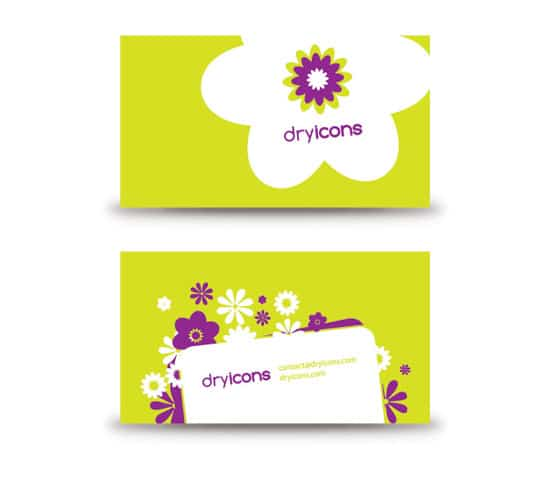 Flowery Business Card