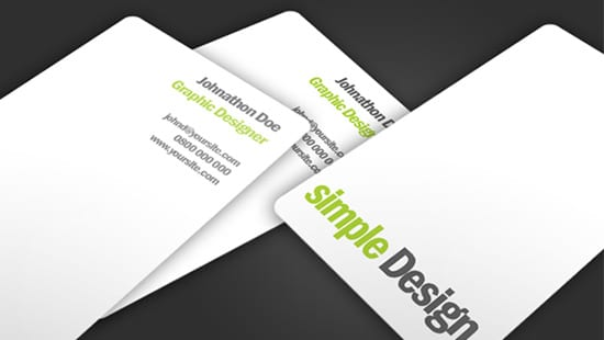 100 free business card templates designrfix simple design business card fbccfo Image collections