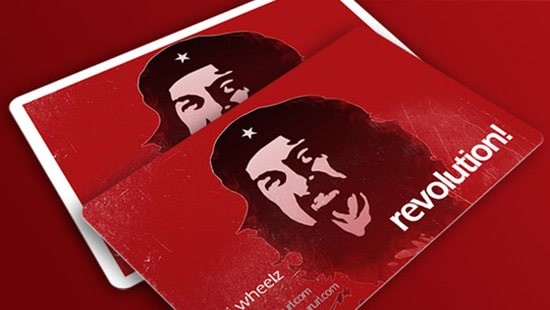 Revolution Business Card