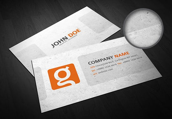 10 Business Card Templates (PSD)