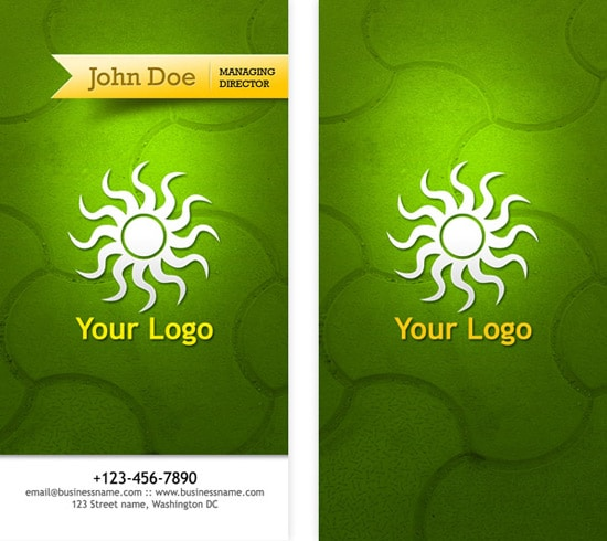 100 free business card templates designrfix business card psd templates front back reheart Gallery