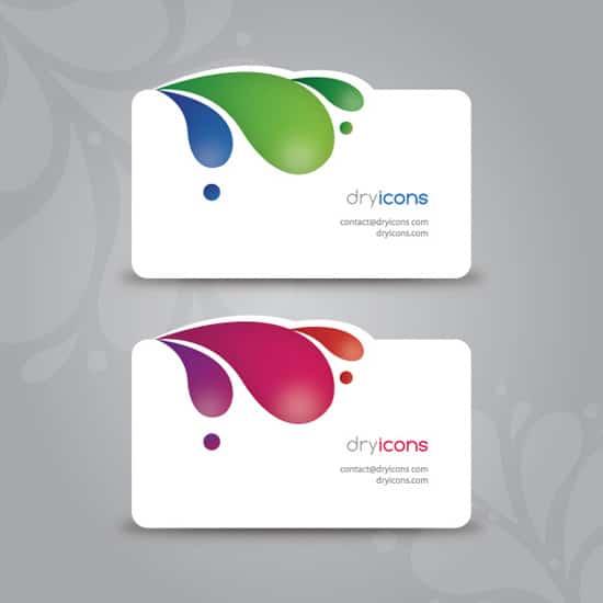 100 free business card templates designrfix modern business cards wajeb Choice Image