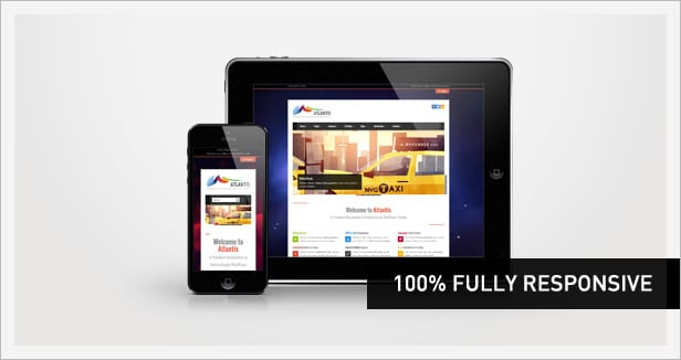 100% Fully Responsive