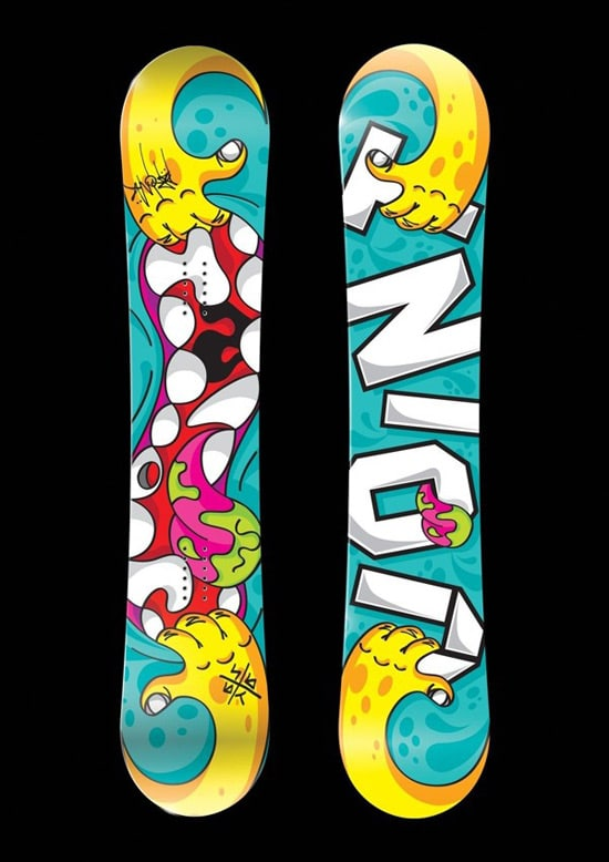 30 wickedly fantastic snowboard designs