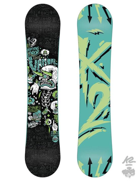 K2 Snowboarding x DXTR / Vandal