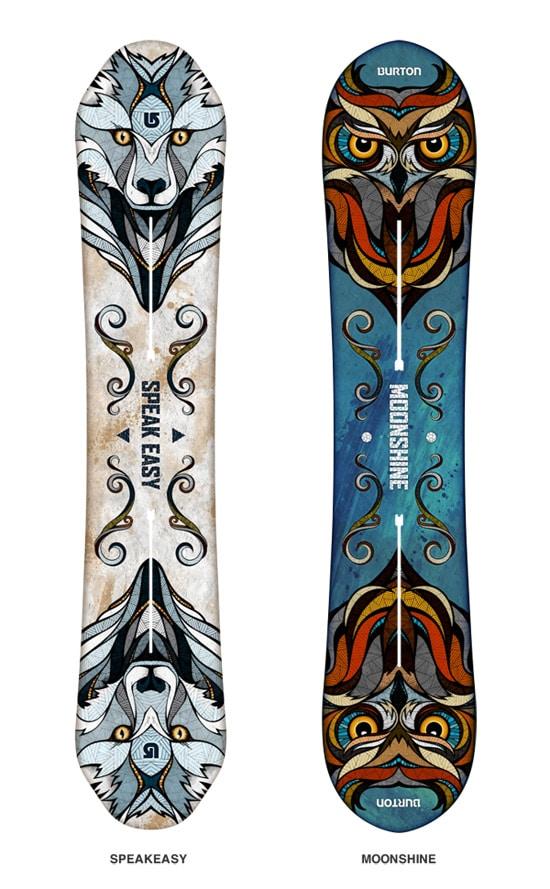 30 Wickedly Fantastic Snowboard Designs Designrfix Com