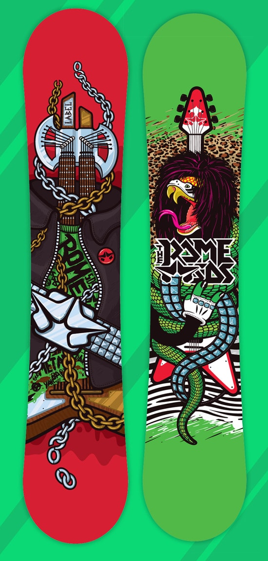 ROME SDS SNOWBOARDS 2011 season series LABAEL