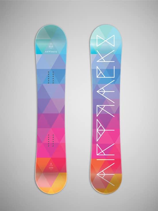 30 Wickedly Fantastic Snowboard Designs - designrfix.com