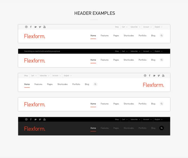 Flexform: Retina Responsive Multi-Purpose Theme