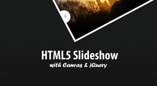 An HTML5 Slideshow w/ Canvas & jQuery