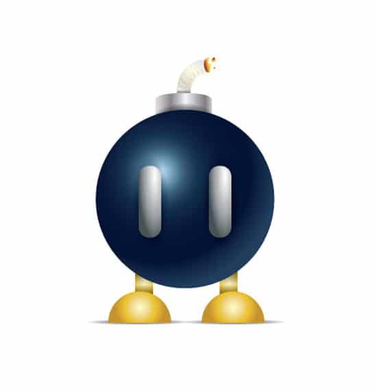 Easy Bomb-Omb in Illustrator