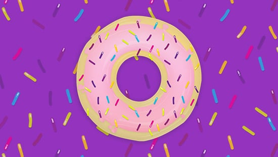Create a Sprinkled Donut Icon in Illustrator and Photoshop