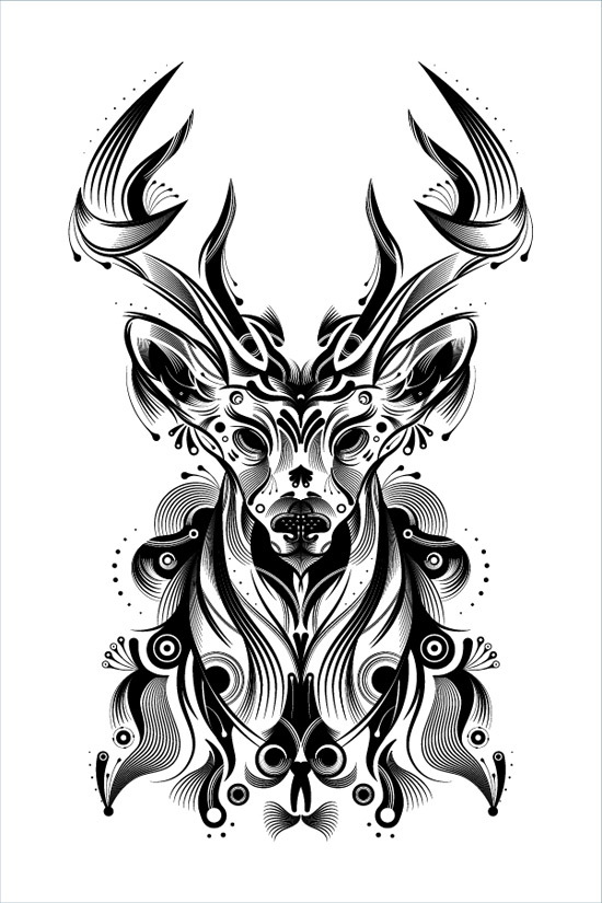 How to Create a Stylish Deer with Brushes and Graphic Styles in Adobe Illustrator