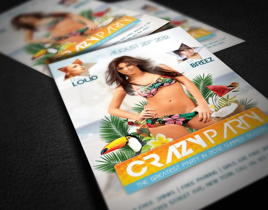 Photoshop Tutorial: Create an Amazing Summer Flyer Design