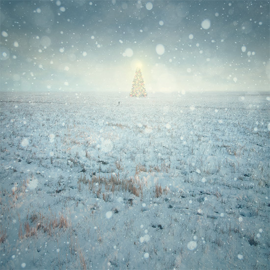 How to Create a Breathtaking Christmas Artwork in Photoshop