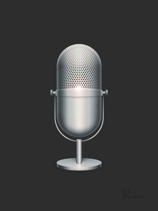 Master Photoshop's Vector Capabilities: Create a Detailed Microphone Illustration | PSDFan