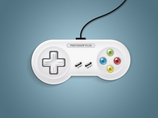 Learn To Create A Retro Style Joypad