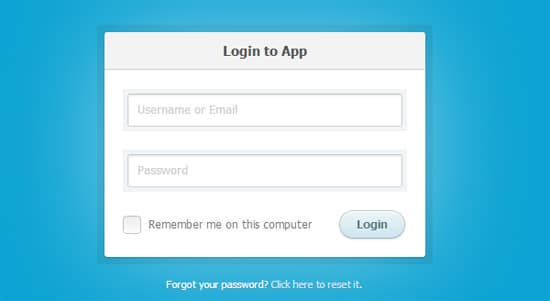 How to Create a CSS3 Login