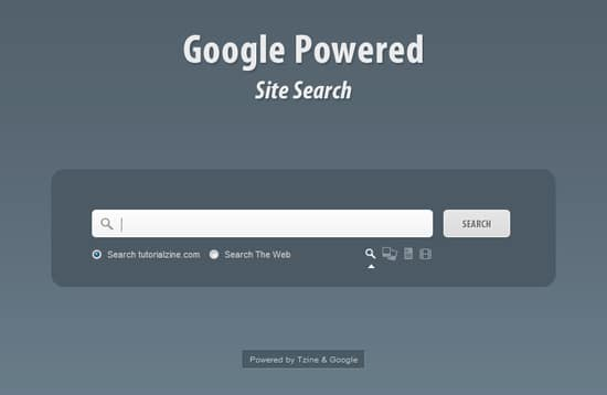 Google Powered Site Search with jQuery