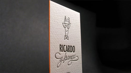 Business Card With Avatar