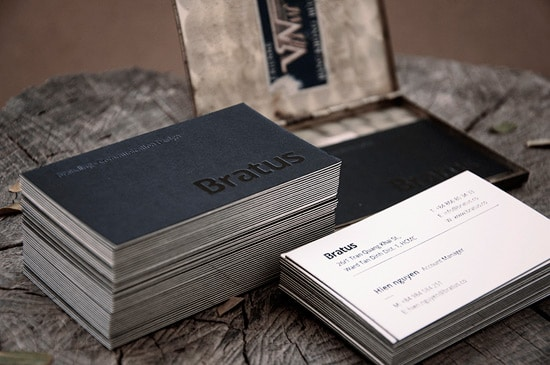 50 new inspiring business card designs designrfix bratus business card colourmoves