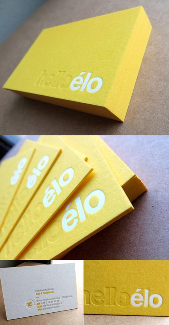 50 New Inspiring Business Card Designs - designrfix.com
