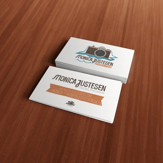 Monica Justesen Photography Branding
