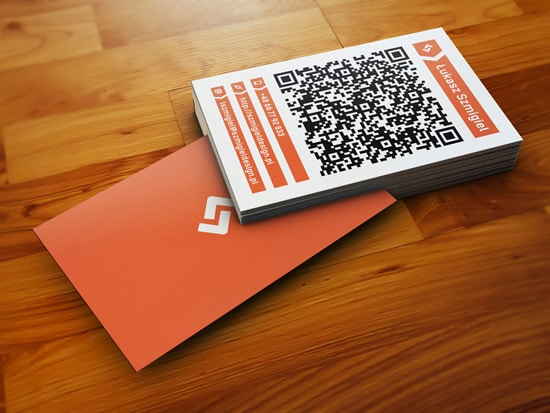 Szmigiel DESIGN - hybrid business card