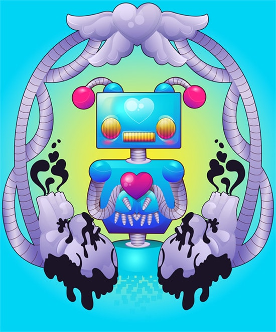 Create a Colorful, Funky Robot With Gradients in Adobe Illustrator