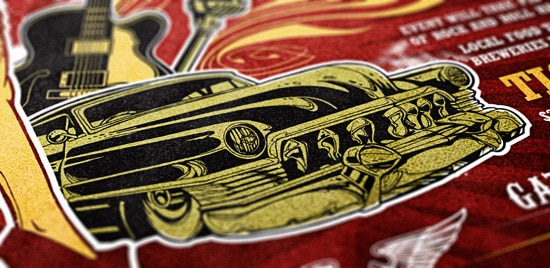 Create a Rockabilly Poster With Vector Set 22 - Part I