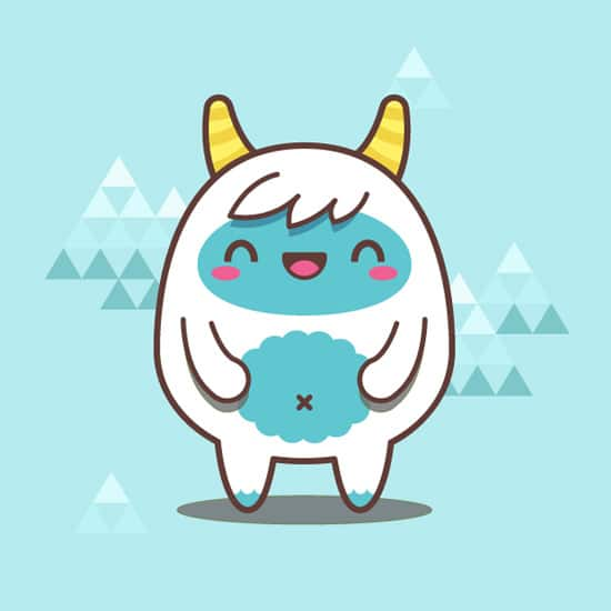 Creating a Simple Kawaii Yeti With Basic Shapes in Adobe Illustrator | Vectortuts+