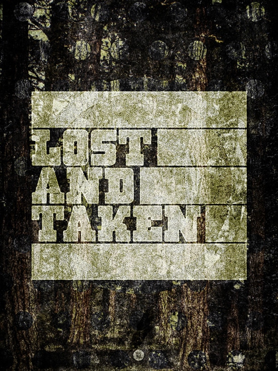 The Lost and Taken Poster: A case study and texturing tutorial