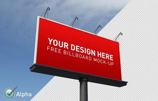 Free Billboard Mock-Up