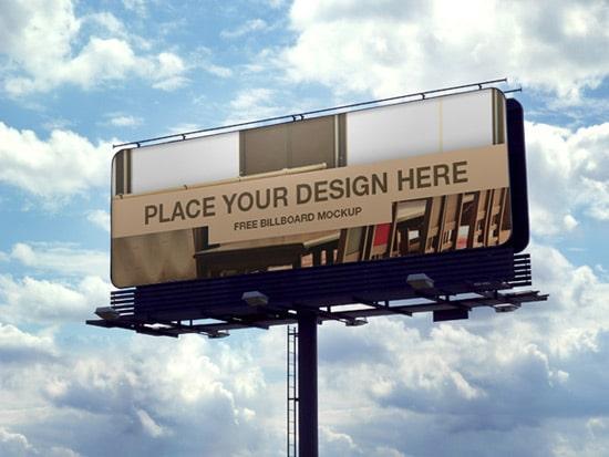 Free Billboard PSD Mockup