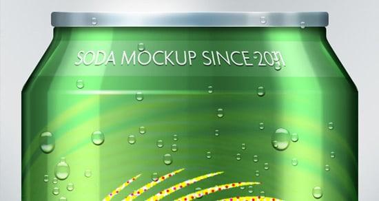 Psd Soda Can Mock-Up