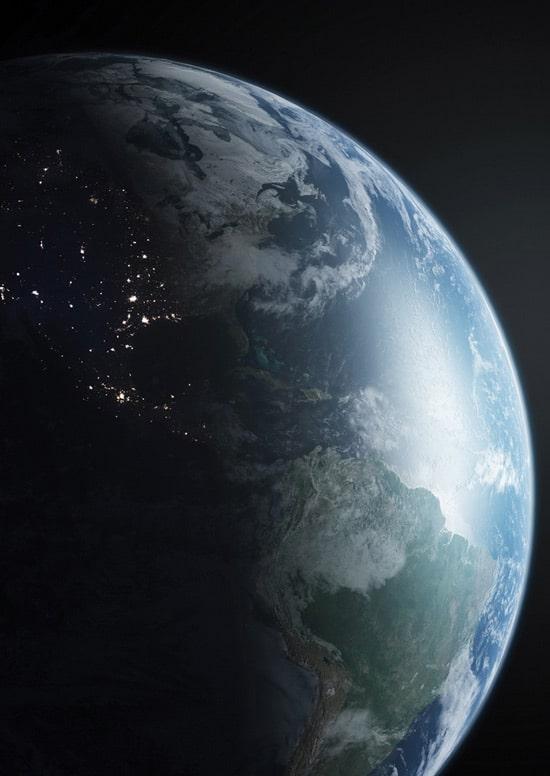 Maya tutorial: Create a realistic Planet Earth