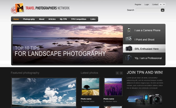 Travel Photographers Network