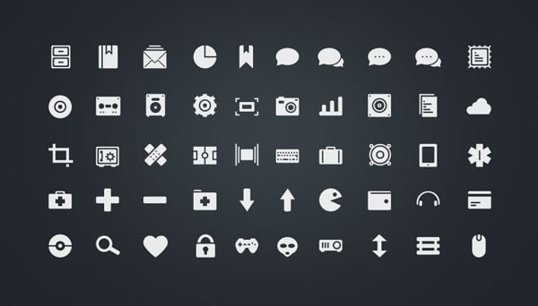 Free download: Simplycons Icon Set