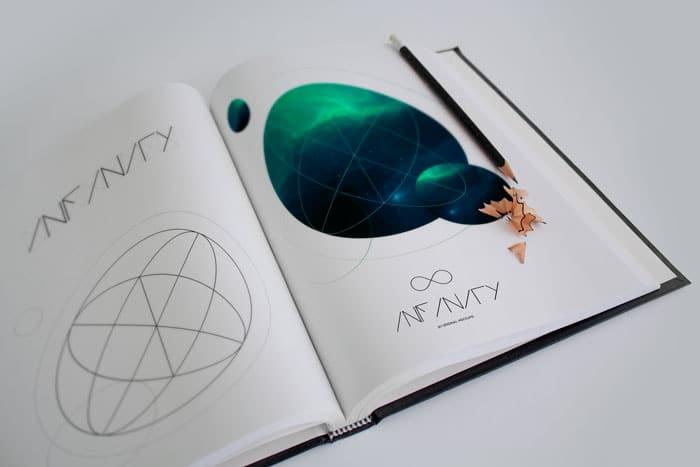 Infinity - Art Book Mockup