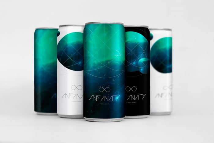 Infinity - Drink Cans Mockup
