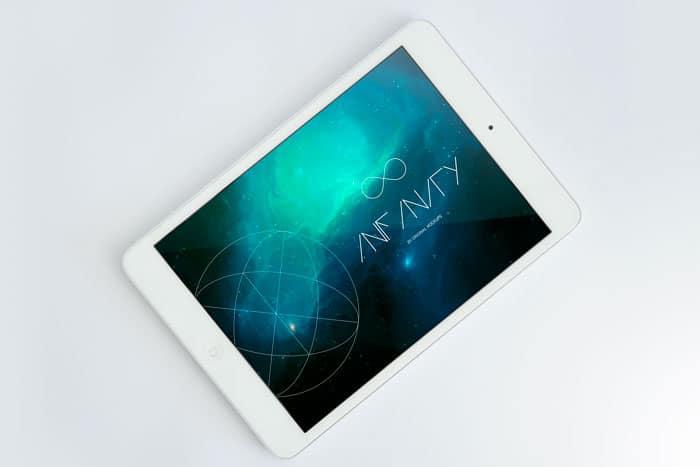 Infinity - iPad Mini Mockup