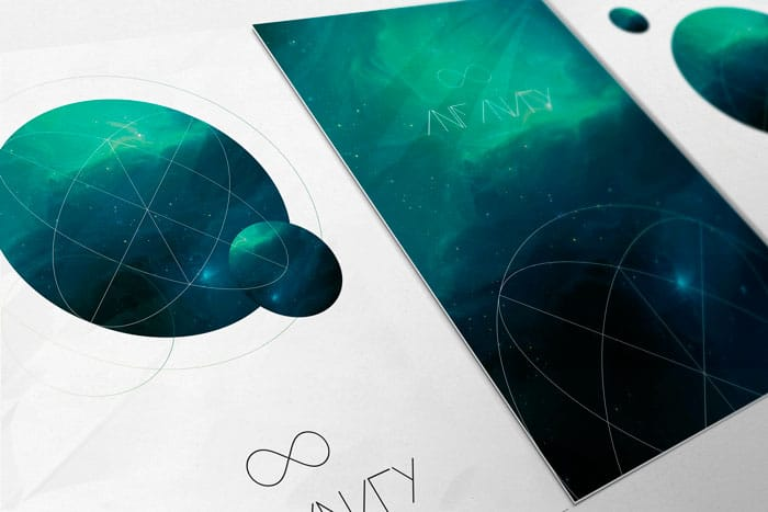 Infinity - Poster Mockup