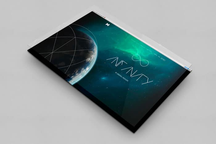 Infinity - UI Display Mockup