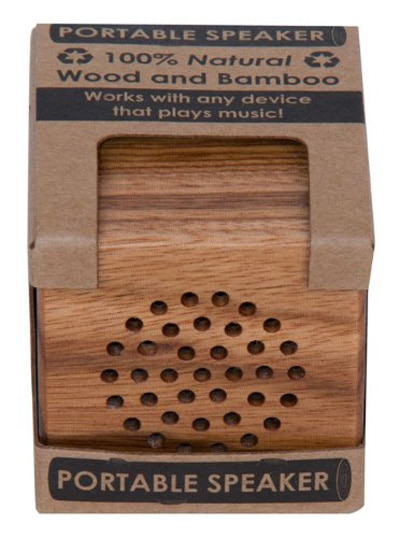 Wood USB Portable Speaker