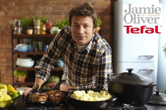 Jamie Oliver and Tefal