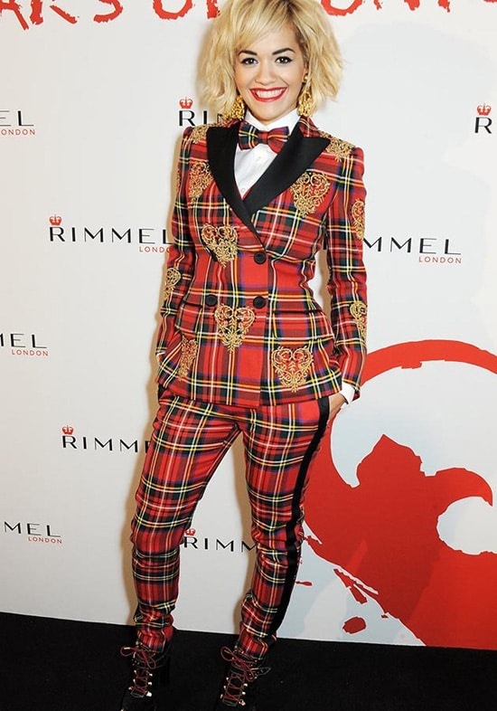 Rita Ora Puts Her Mark on Rimmel