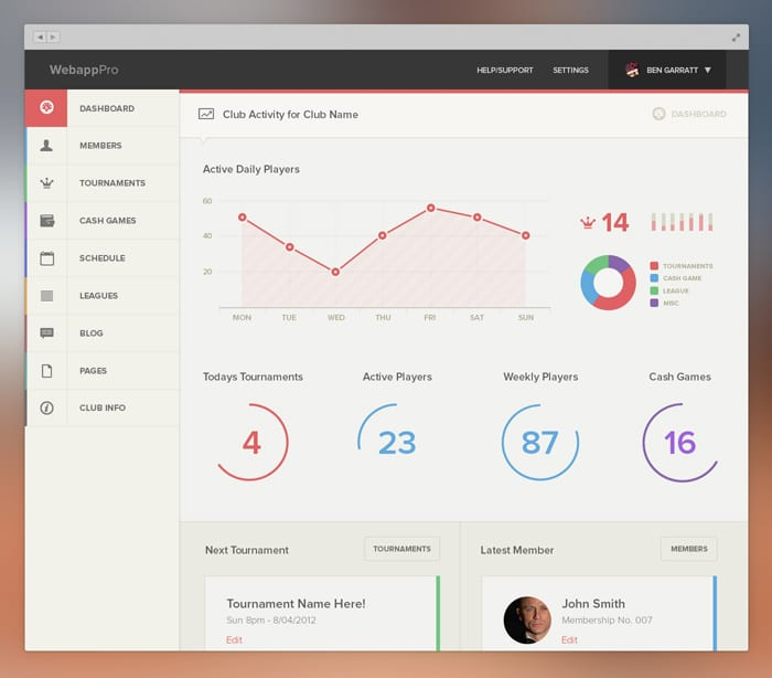 Web Design Software Best: 20+ Awesome Dashboard Designs That Will Inspire You