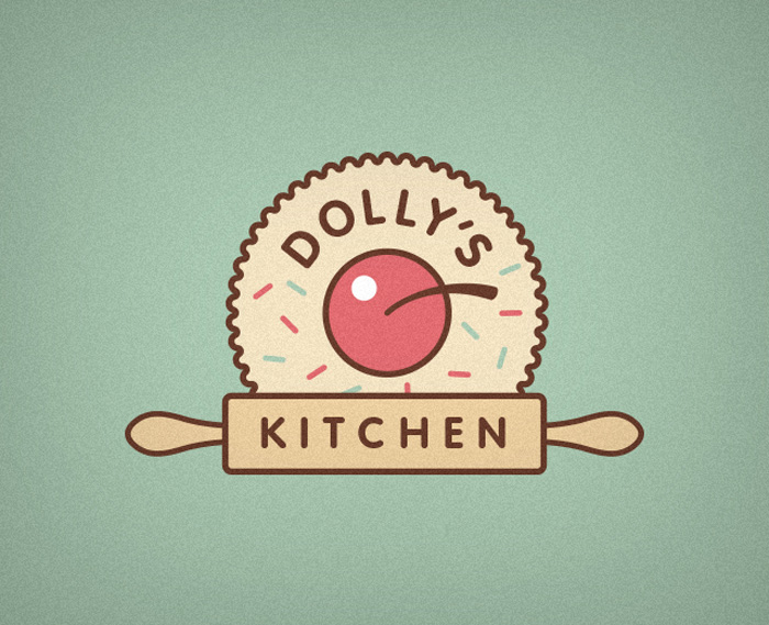 80 wicked logo designs that will truly inspire you for Kitchen design logo