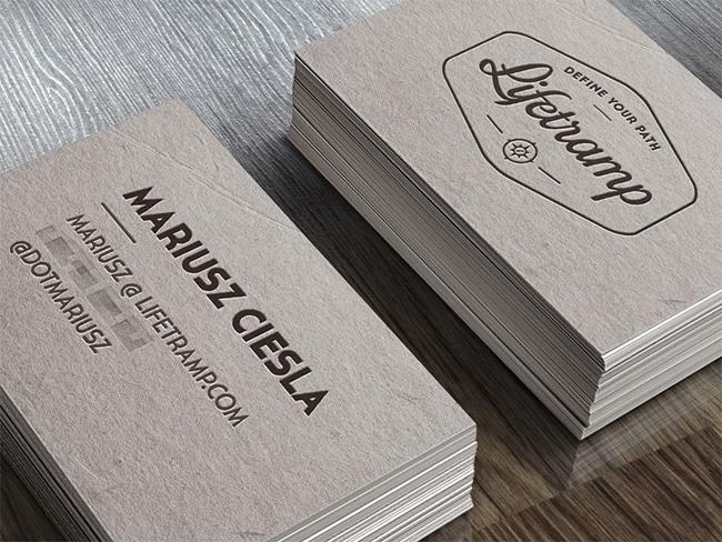 Awesome examples of business card design designrfix lifetramp business cards colourmoves