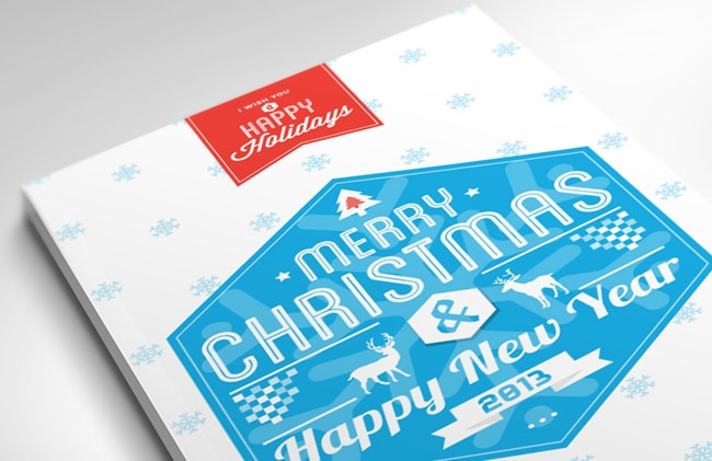 Awesome examples of business card design designrfix merry christmas card 2013 reheart Choice Image